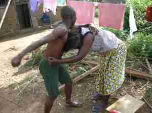 Zimbabwean Woman Burns Her Husband
